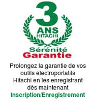 Garantie outillage Hitachi